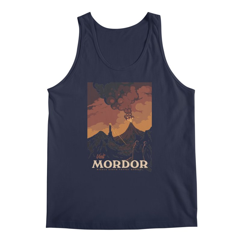 Visit Mordor Men's Tank by mathiole
