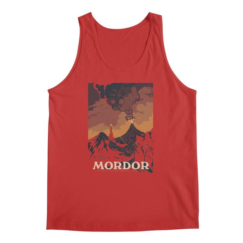 Visit Mordor Men's Tank by mathiole