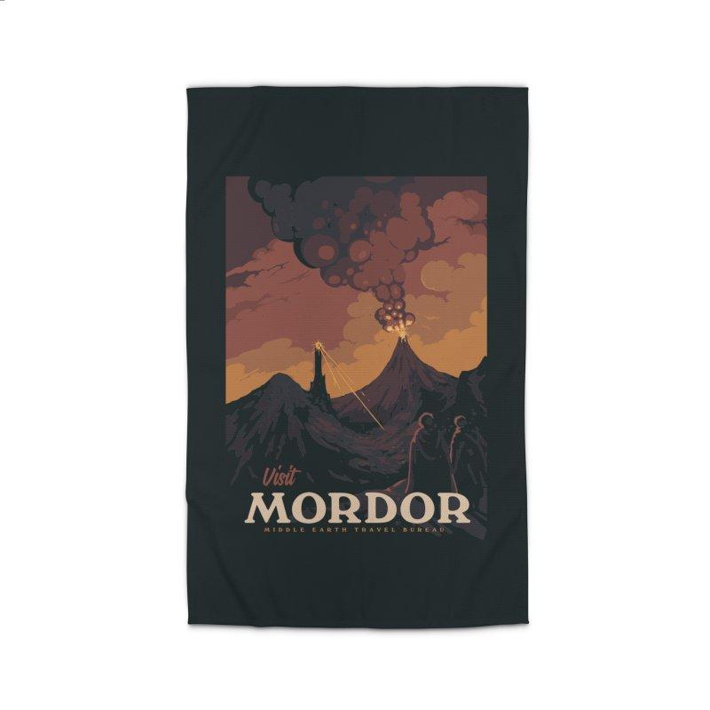 Visit Mordor Home Rug by mathiole