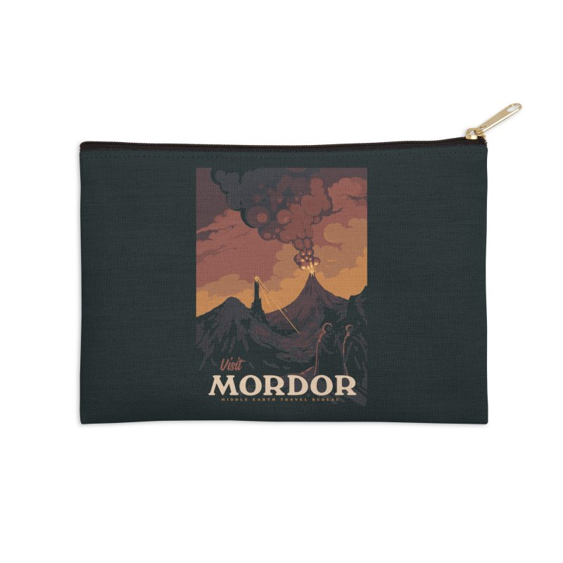 Visit Mordor Accessories Zip Pouch by mathiole