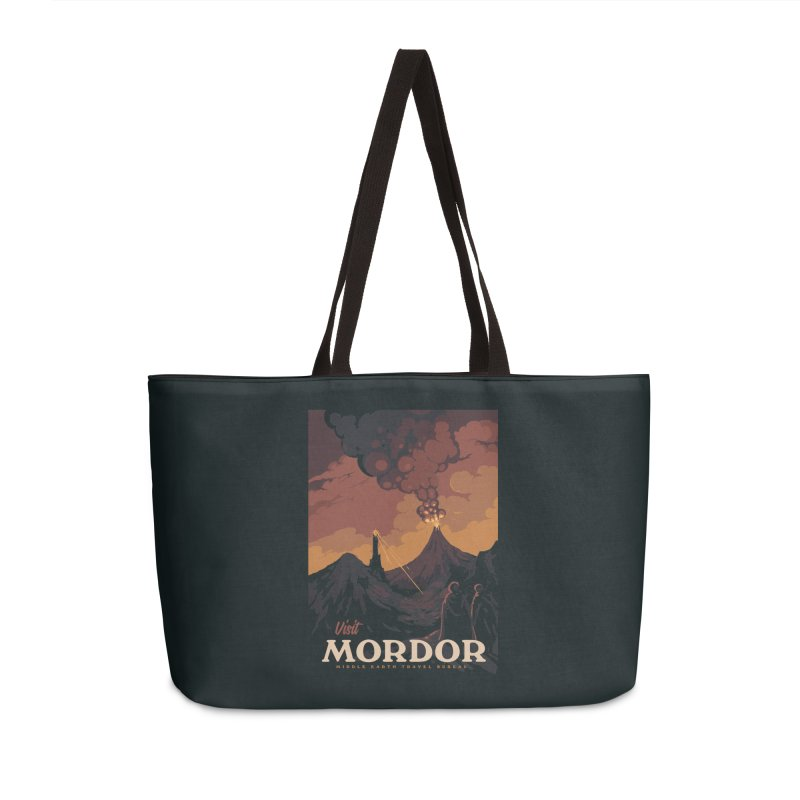 Visit Mordor Accessories Weekender Bag Bag by mathiole