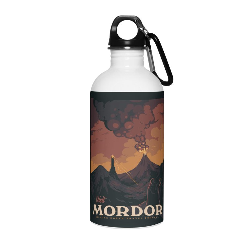 Visit Mordor Accessories Water Bottle by mathiole