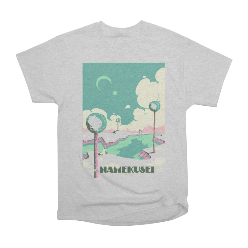 Visit Namekusei Women's Heavyweight Unisex T-Shirt by mathiole