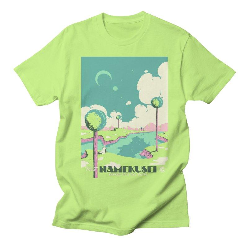 Visit Namekusei Men's T-Shirt by mathiole