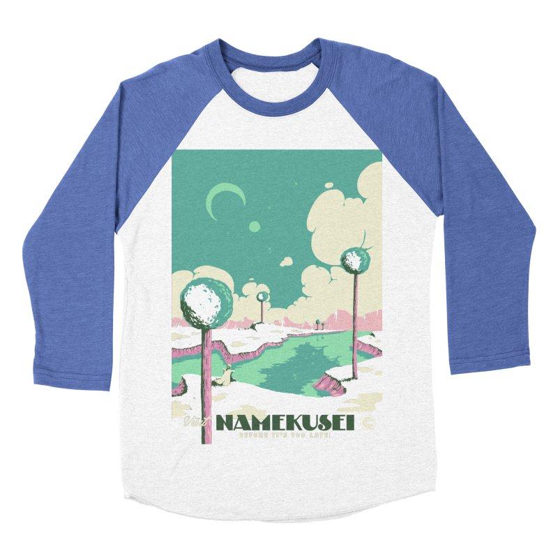 Visit Namekusei Women's Baseball Triblend T-Shirt by mathiole