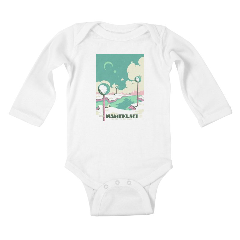 Visit Namekusei Kids Baby Longsleeve Bodysuit by mathiole