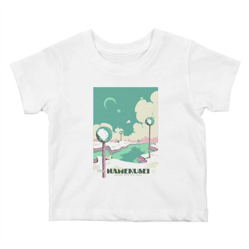 Visit Namekusei Kids Baby T-Shirt by mathiole