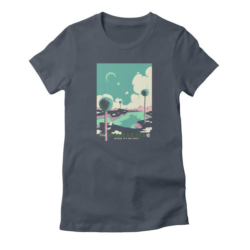 Visit Namekusei Women's T-Shirt by mathiole