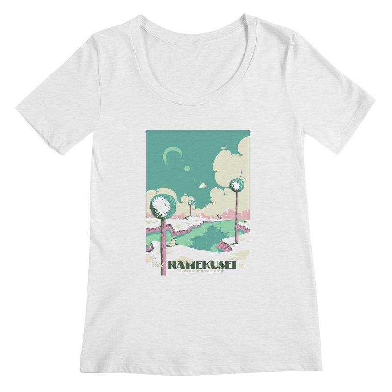 Visit Namekusei Women's Scoopneck by mathiole