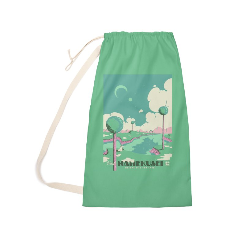 Visit Namekusei Accessories Laundry Bag Bag by mathiole