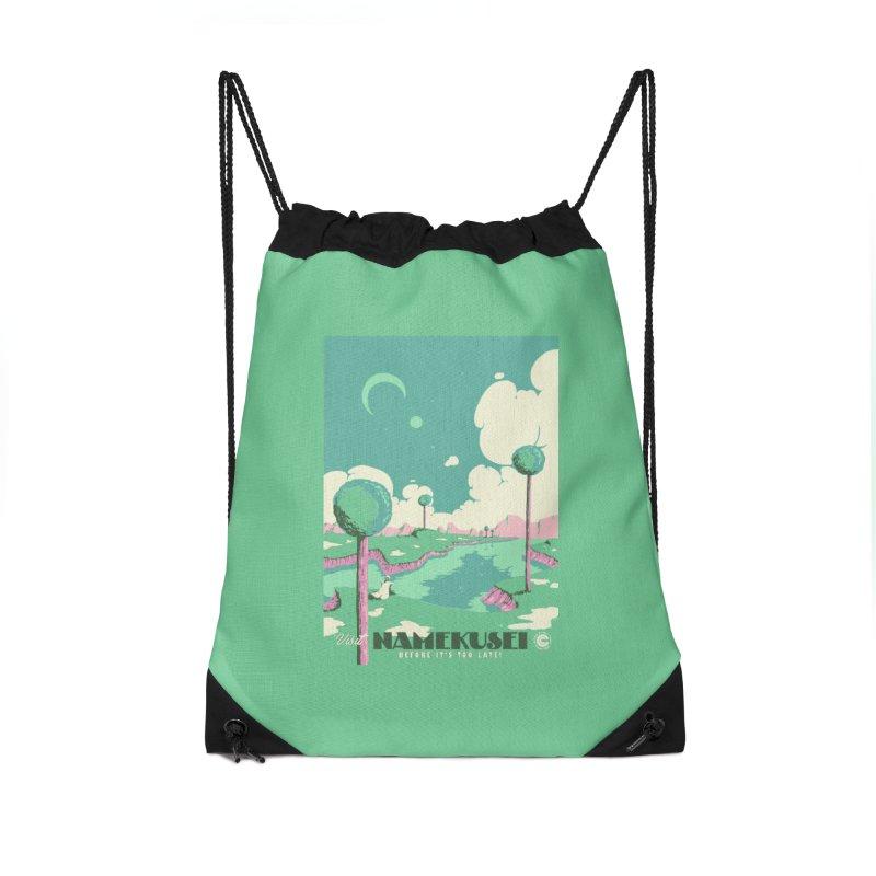Visit Namekusei Accessories Drawstring Bag Bag by mathiole