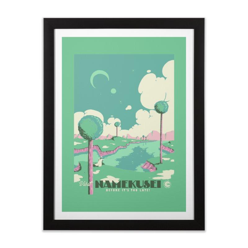 Visit Namekusei Home Framed Fine Art Print by mathiole