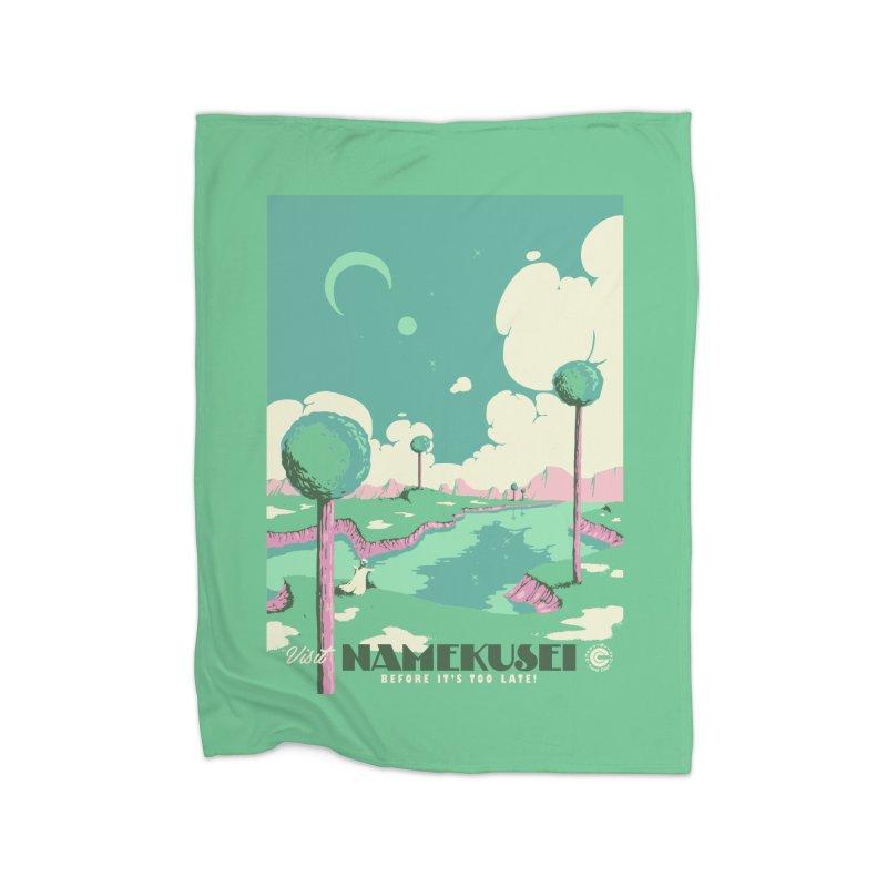 Visit Namekusei Home Blanket by mathiole