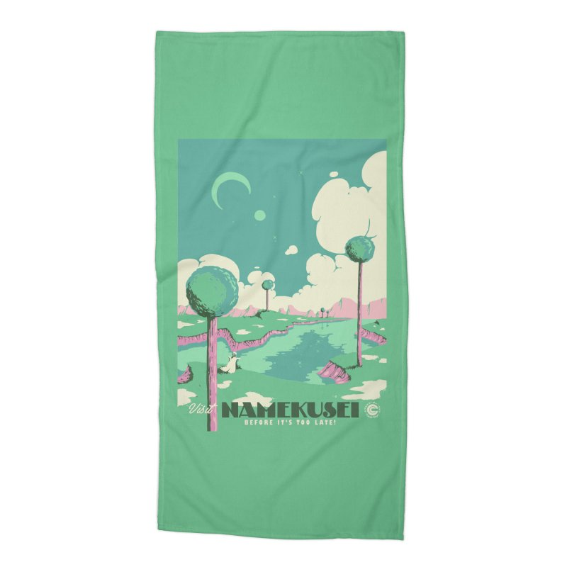 Visit Namekusei Accessories Beach Towel by mathiole