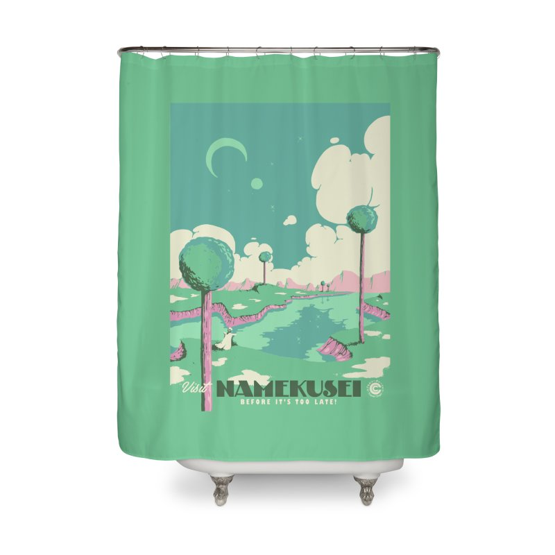 Visit Namekusei Home Shower Curtain by mathiole
