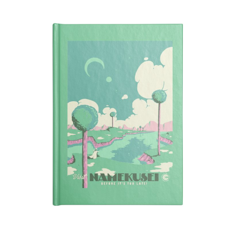 Visit Namekusei Accessories Lined Journal Notebook by mathiole