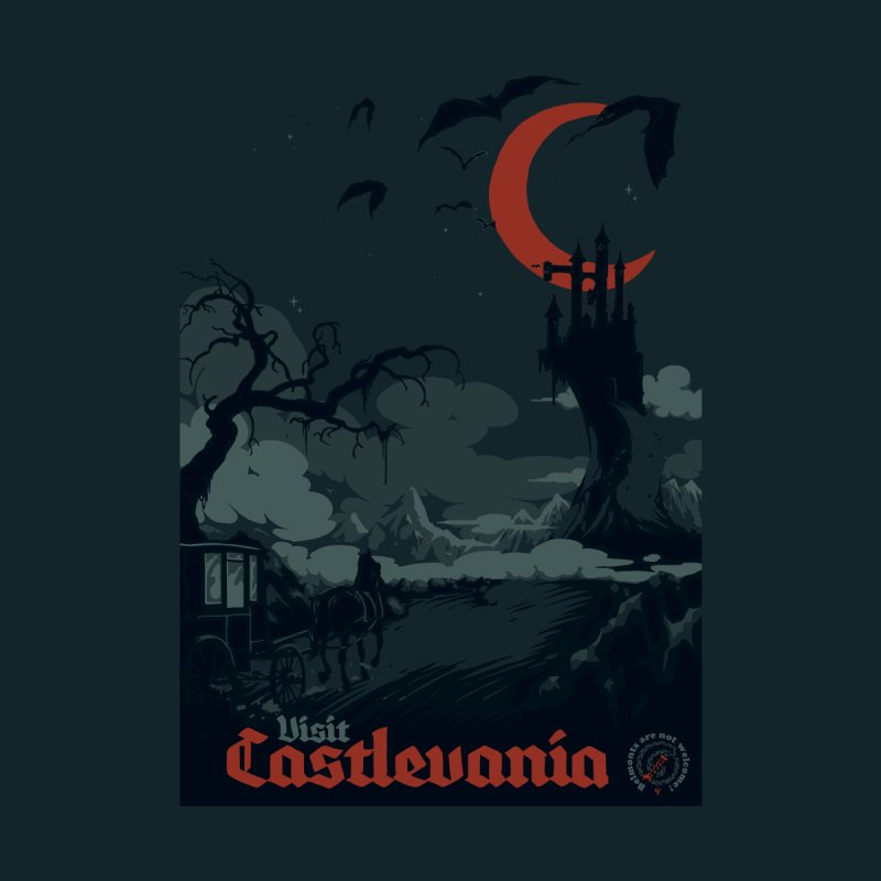 Visit Castlevania by mathiole