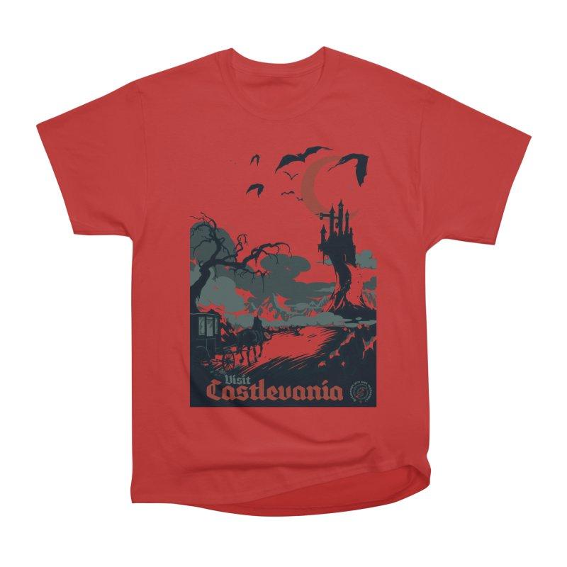 Visit Castlevania Men's Classic T-Shirt by mathiole