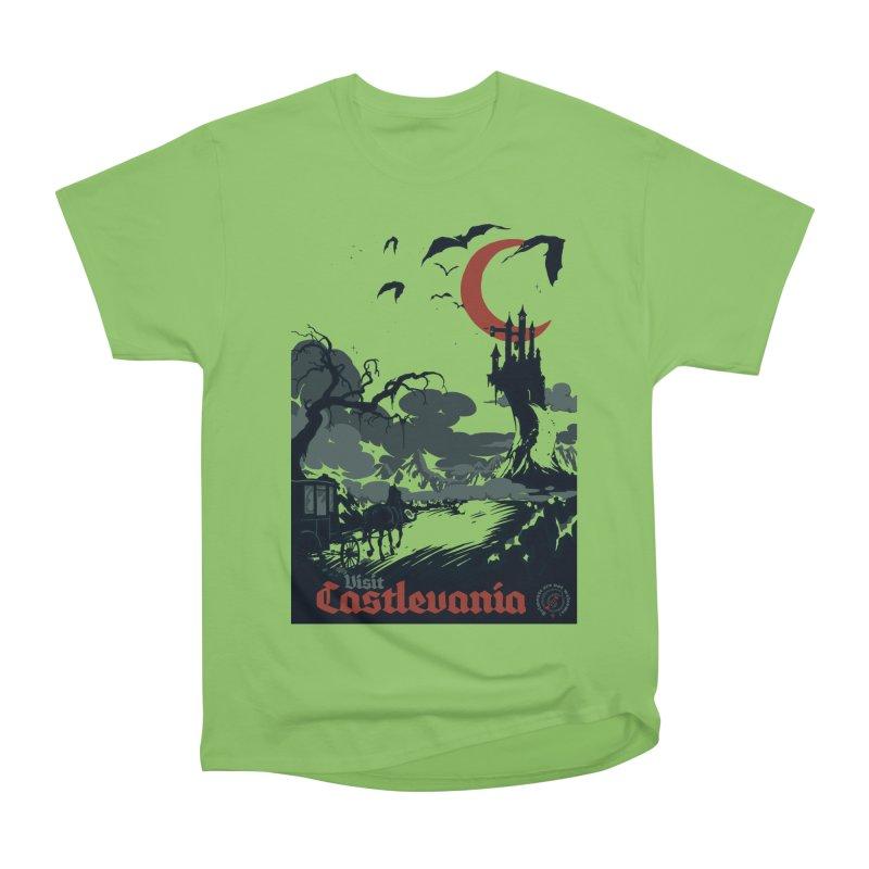 Visit Castlevania Men's Heavyweight T-Shirt by mathiole