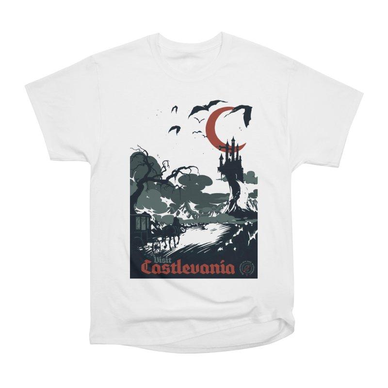 Visit Castlevania Women's Classic Unisex T-Shirt by mathiole