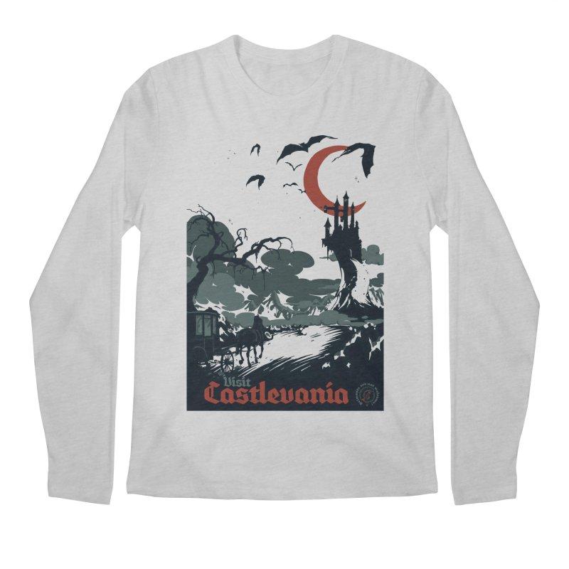 Visit Castlevania Men's Longsleeve T-Shirt by mathiole