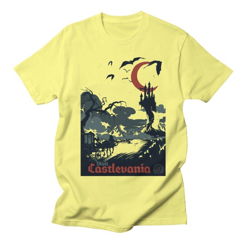 Visit Castlevania Women's Unisex T-Shirt by mathiole