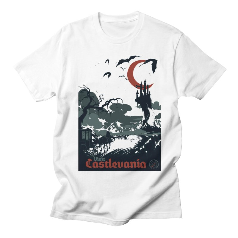 Visit Castlevania Men's T-Shirt by mathiole