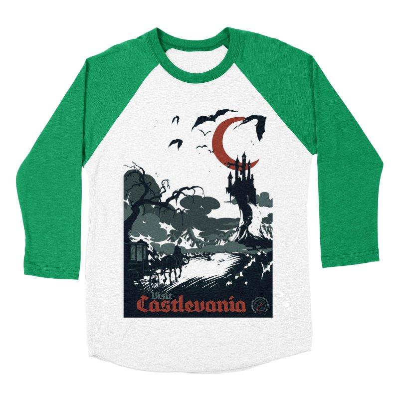 Visit Castlevania Women's Baseball Triblend T-Shirt by mathiole