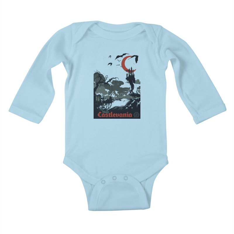 Visit Castlevania Kids Baby Longsleeve Bodysuit by mathiole