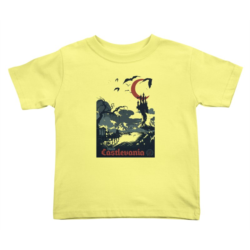 Visit Castlevania Kids Toddler T-Shirt by mathiole