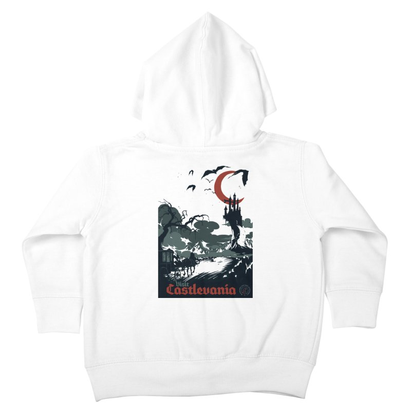 Visit Castlevania Kids Toddler Zip-Up Hoody by mathiole