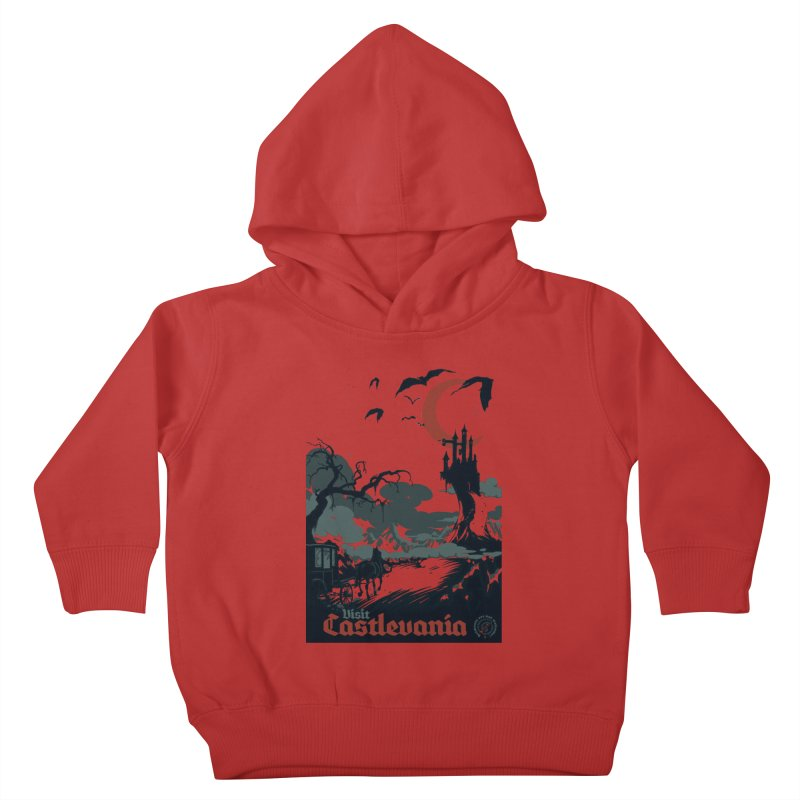 Visit Castlevania Kids Toddler Pullover Hoody by mathiole