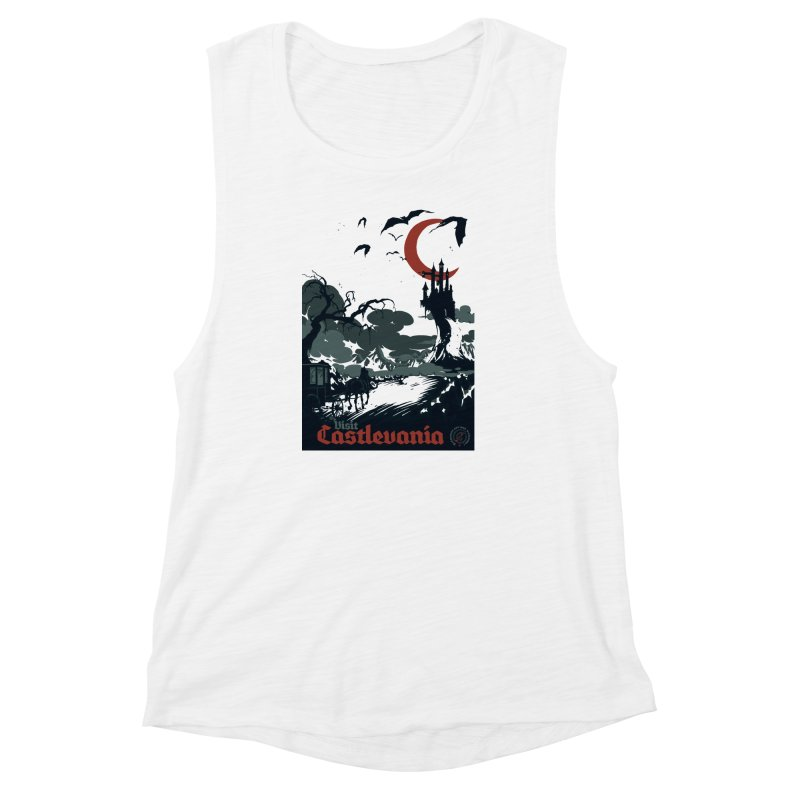 Visit Castlevania Women's Muscle Tank by mathiole