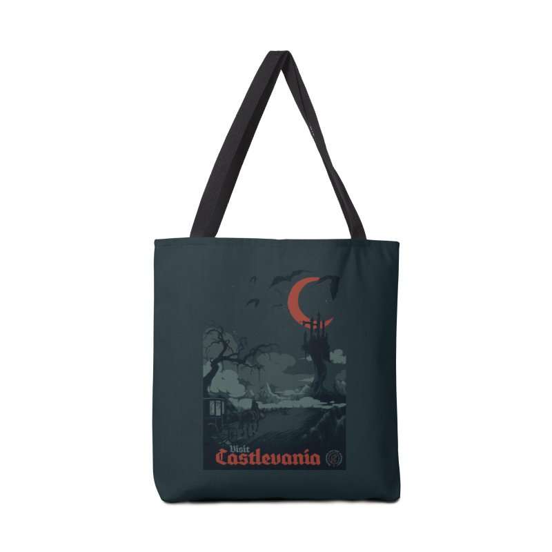 Visit Castlevania Accessories Bag by mathiole