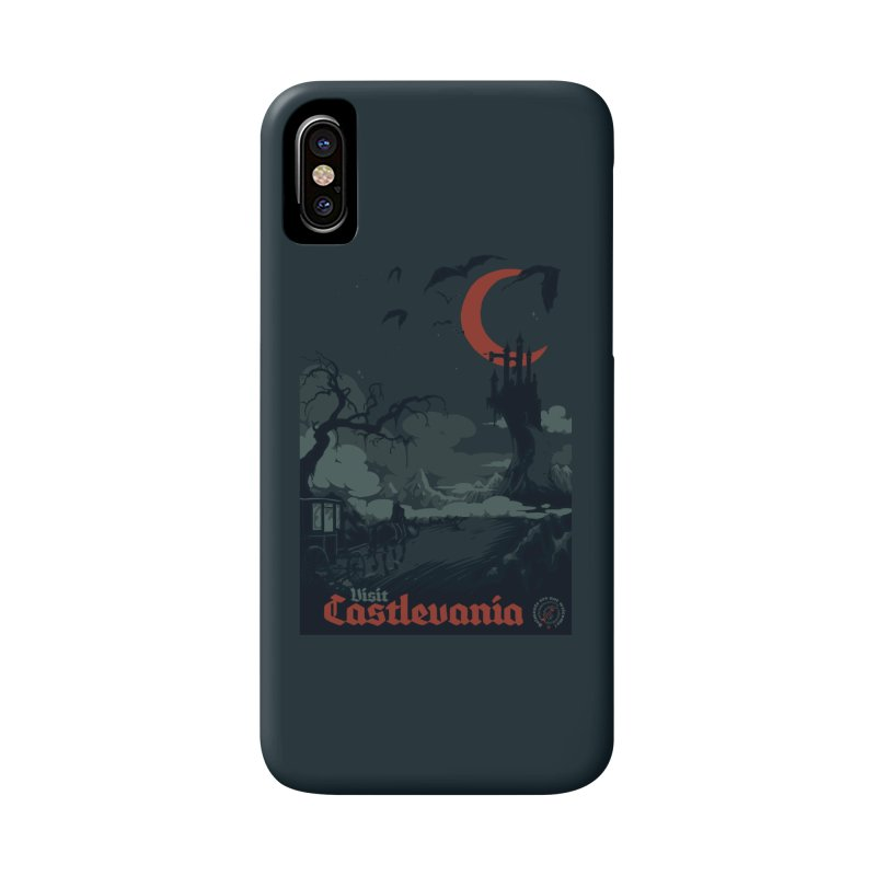 Visit Castlevania Accessories Phone Case by mathiole