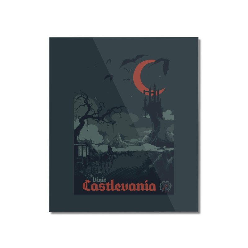 Visit Castlevania Home Mounted Acrylic Print by mathiole