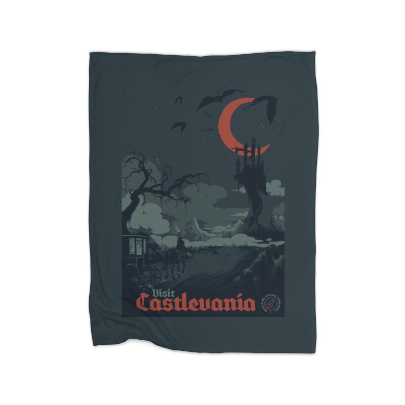 Visit Castlevania Home Blanket by mathiole