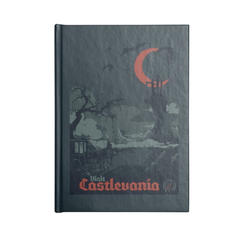 Visit Castlevania Accessories Notebook by mathiole