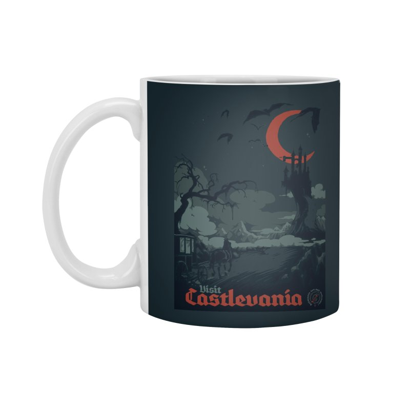 Visit Castlevania Accessories Mug by mathiole