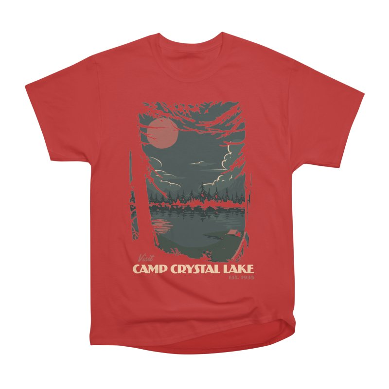 Visit Camp Crystal Lake Men's Classic T-Shirt by mathiole