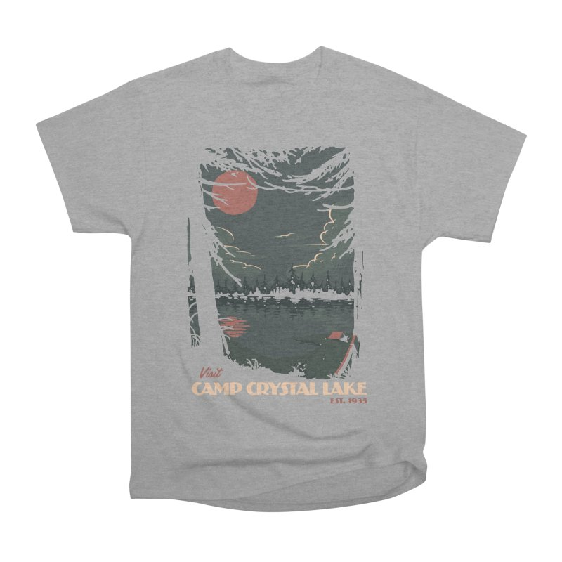 Visit Camp Crystal Lake Women's Classic Unisex T-Shirt by mathiole