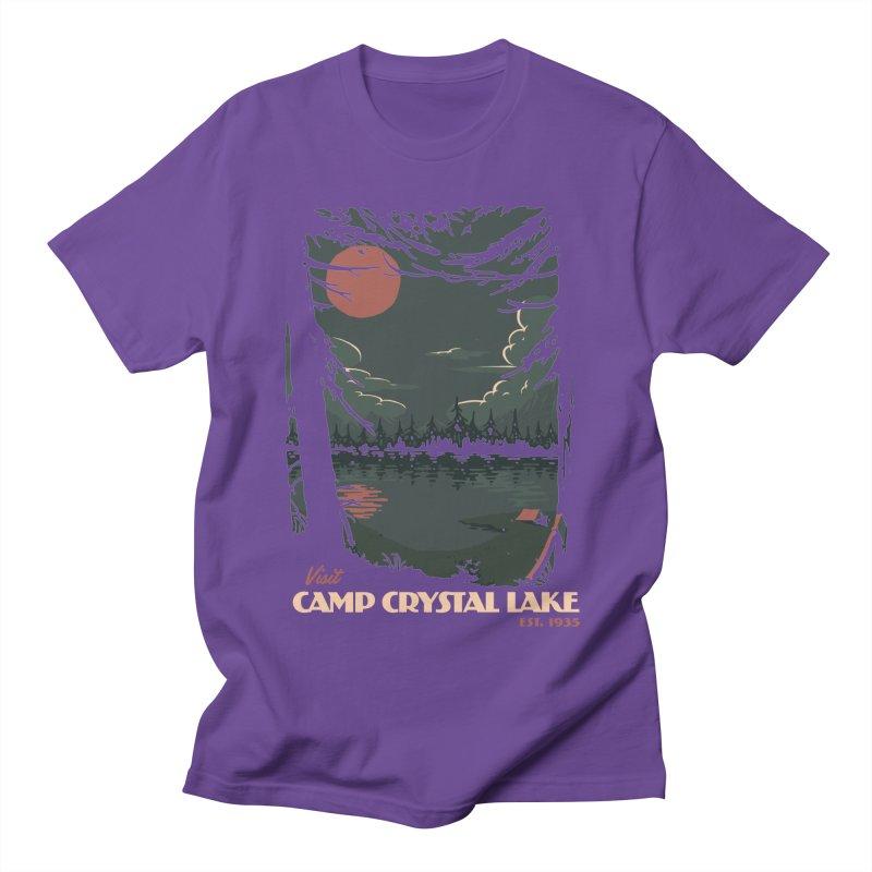 Visit Camp Crystal Lake Women's Unisex T-Shirt by mathiole