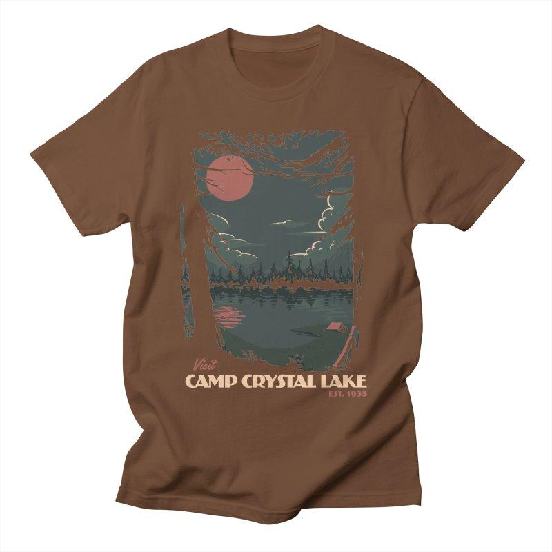 Visit Camp Crystal Lake Women's Regular Unisex T-Shirt by mathiole