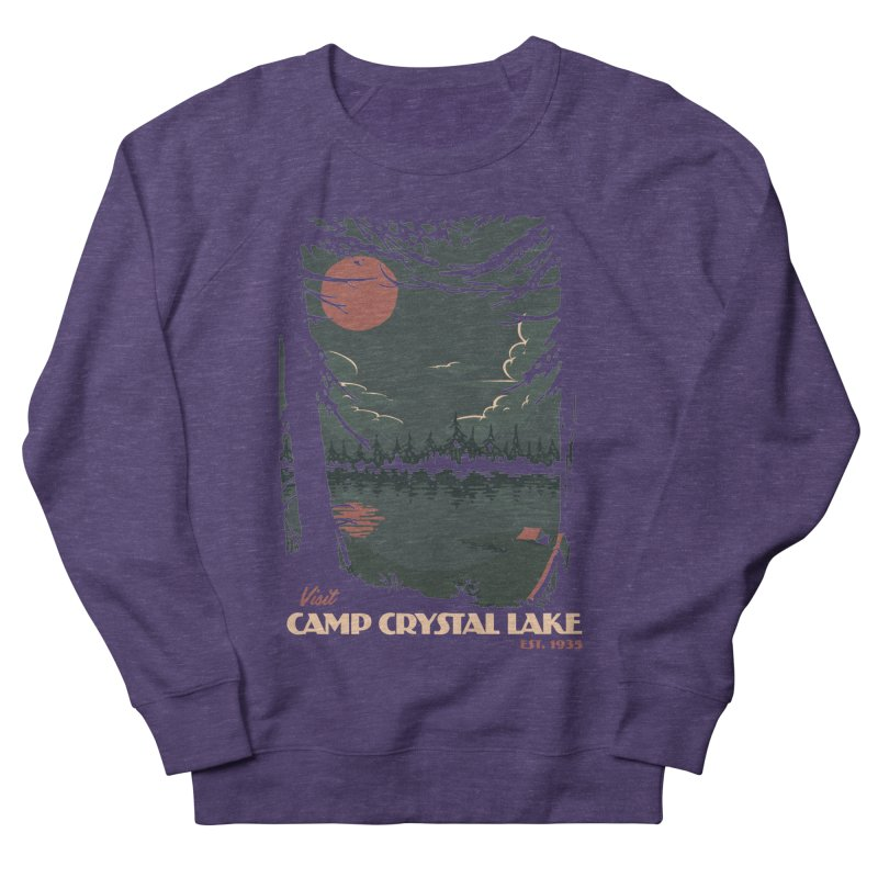 Visit Camp Crystal Lake Men's Sweatshirt by mathiole