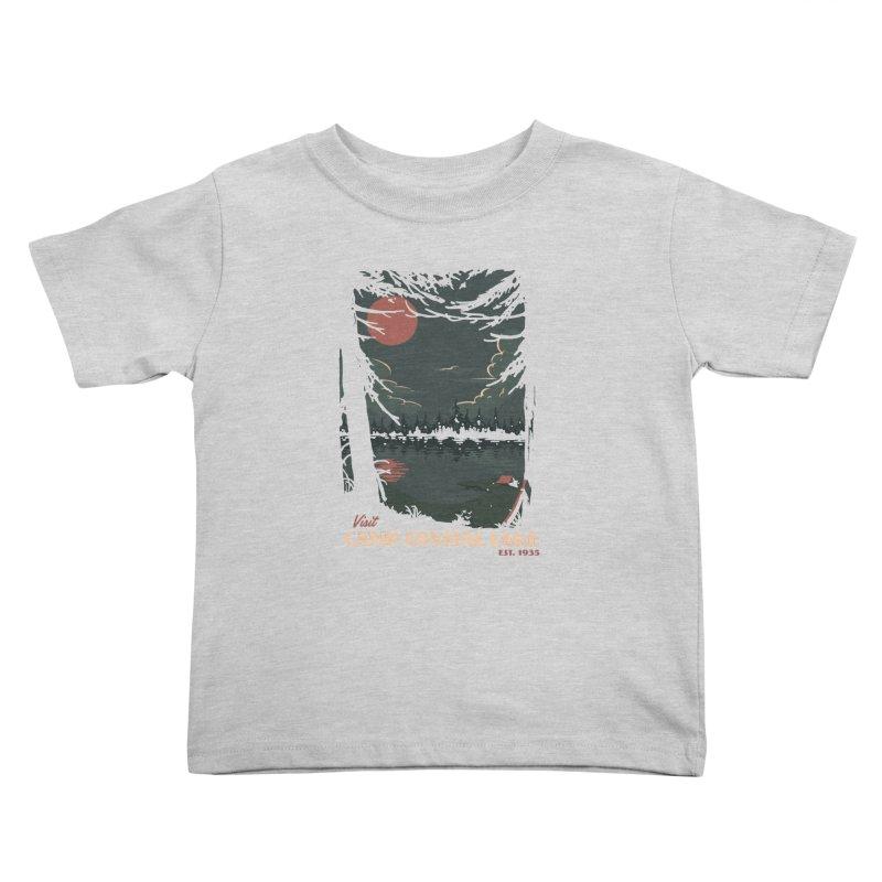 Visit Camp Crystal Lake Kids Toddler T-Shirt by mathiole