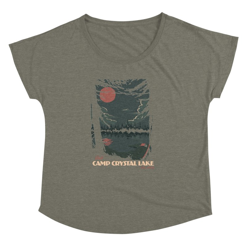 Visit Camp Crystal Lake Women's Dolman by mathiole