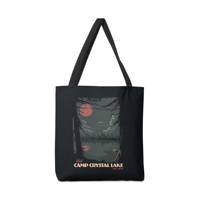 Visit Camp Crystal Lake Accessories Bag by mathiole