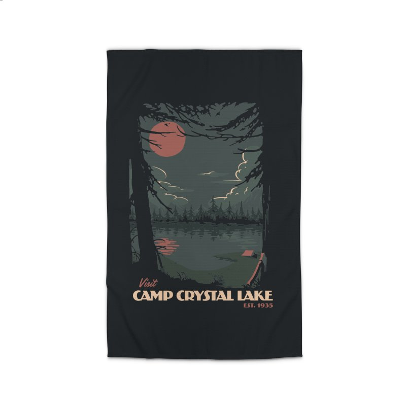 Visit Camp Crystal Lake Home Rug by mathiole