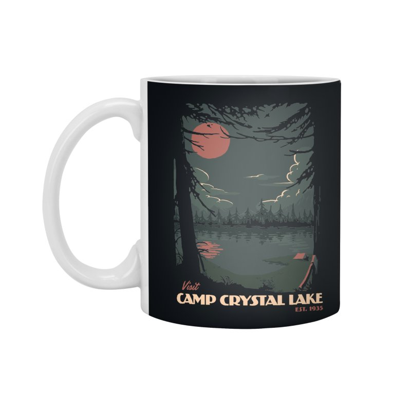 Visit Camp Crystal Lake Accessories Mug by mathiole