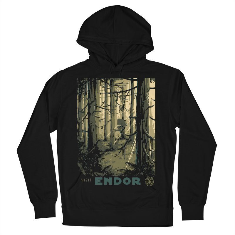 Visit Endor Men's French Terry Pullover Hoody by mathiole